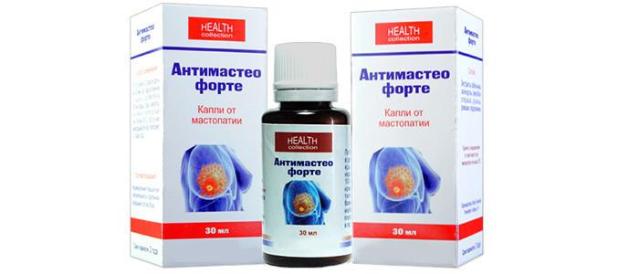 Антимастео Форте - капли от мастопатии на основе натуральных компонентов