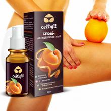 Cellufit - Спрей антицеллюлитный (Целлюфит), Укрепляет стенки сосудов, насыщает кожу витаминами