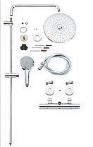 Grohe Euphoria System 260 Душова система з термостатом для настінного монтажу (27296002), фото 3