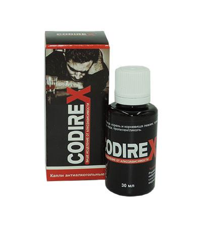 Codirex - Капли от алкоголизма Кодирекс