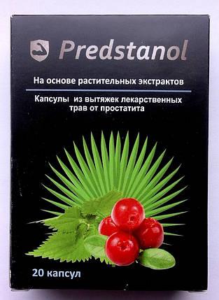 Predstanol - высокоэффективные капсулы от простатита (Предстанол), натуральные компоненты, фото 2
