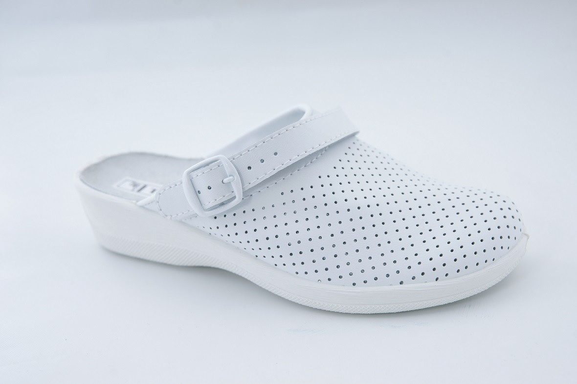 Обувь (сабо) медицинская, Молдавия, модель Яна белые р.36 - р.41