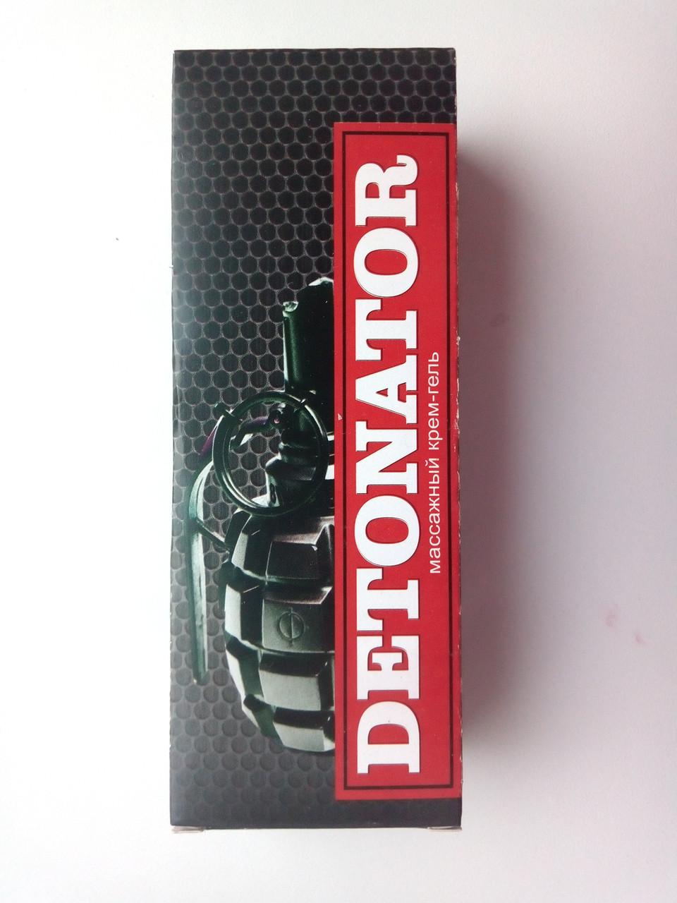 Detonator - Массажный крем-гель для потенции и эрекции (Детонатор)натуральный состав