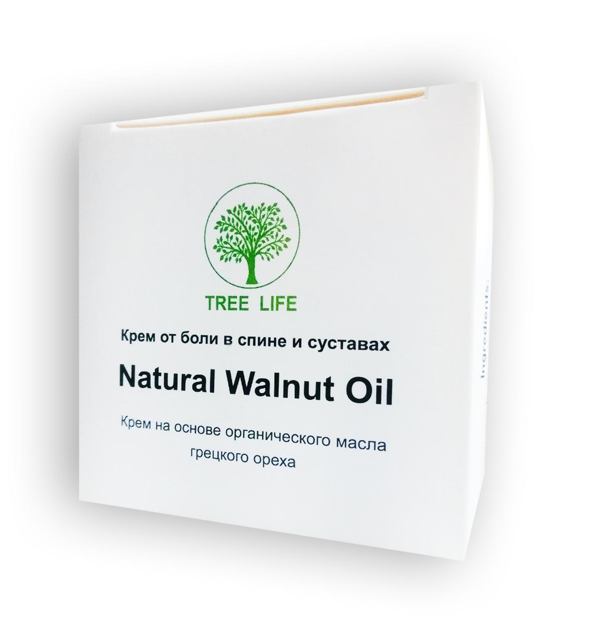 Natural Walnut Oil - Крем от боли в спине и суставах Нейчирал Велнут Ойл