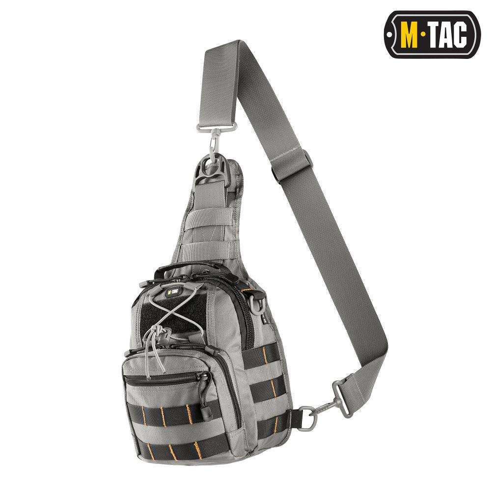M-Tac Сумка Urban line City patrol Carabiner Bag сіра