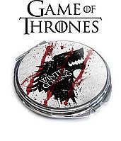 Карманное зеркало Зима близко Игра престолов / Game of Thrones