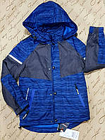 Демисезонная куртка для мальчика 4-12 лет