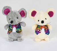 Мягкая игрушка Мышка с присоской 12 см