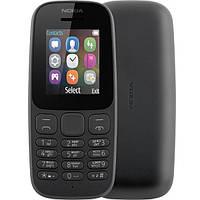 Кнопочный телефон Nokia 105 SS Black