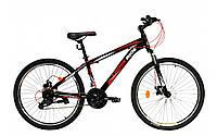 """Велосипед CROSSRIDE 24"""" колесо  MTB ST """"SKYLINE""""  (Черный)"""