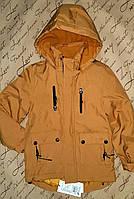 Теплая куртка парка для мальчика 8 и 16 лет