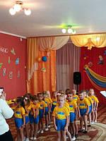 """Наші маленькі українці із м. Лохвиця ДНЗ """"Орлятко"""" група Смішарики😊❤❤❤"""
