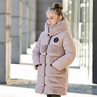 Зимняя куртка-шубка для девочки