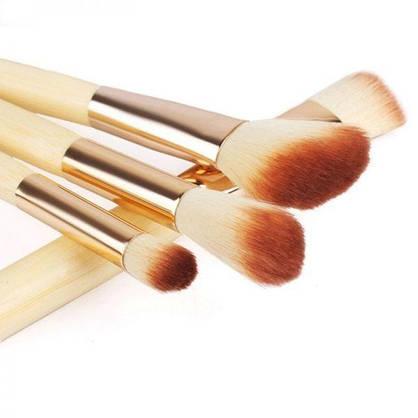 Кисти для макияжа Eco Brushes for Makeup 8 pieces, фото 3