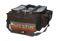 Сумка Westin W3 Jumbo Lure Loader Large Grizzly Brown/Black + 4 коробки