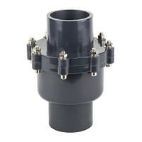"""Era Обратный клапан ПВХ ERA, диаметр 110 мм с внутренней резьбой 4"""""""