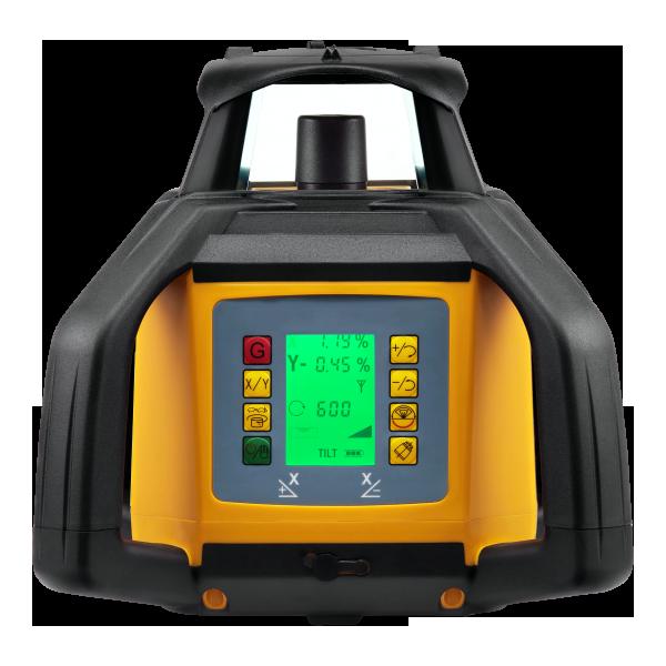 Лазерный нивелир ротационный Fukuda FRE-203X-LCD Green Зеленый луч