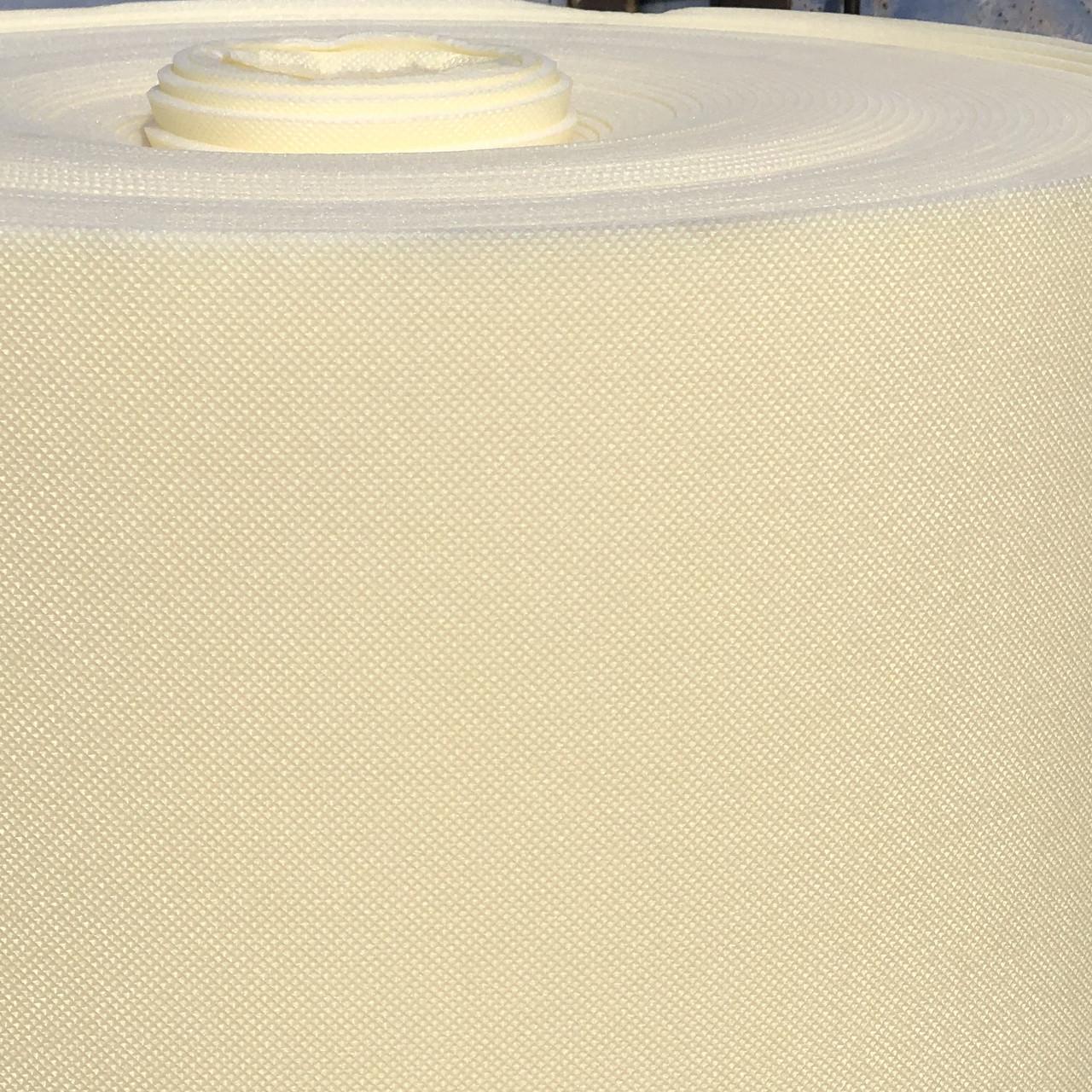 Вспененный полиэтилен для производства одноразовых тапочек 4мм, химически сшитый ППЭ Полифом, белый 1,2х50м