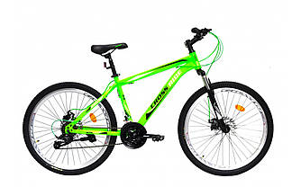 "Велосипед CROSSRIDE 24"" колесо MTB ST ""SKYLINE"" (Зелений)"