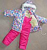 Детские зимние комбинезоны для девочек 1 2 года  зимние комплекты