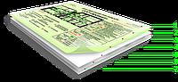 Фотолюминесцентный план эвакуации по макету заказчика с слабогорючей пластиковой подложкой Veko(Германия
