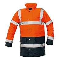 Куртка СЕФТОН утепленная, от дождя, оранжевая