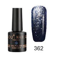 Гель-лак Ou Nail №362, 8 ml