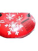 Тюбинг-ватрушка ПВХ (Тайвань) красный