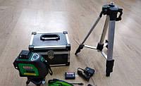 Лазерный уровень, нивелир AL-FA ALNL-3DG 12 : лазерных линий (3 плоскости) + точка отвеса