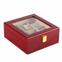 Шкатулка для хранения часов Craft  6WB.RD.GL
