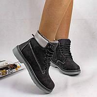 Женские зимние ботинки типа Timberland тимберленд, фото 1
