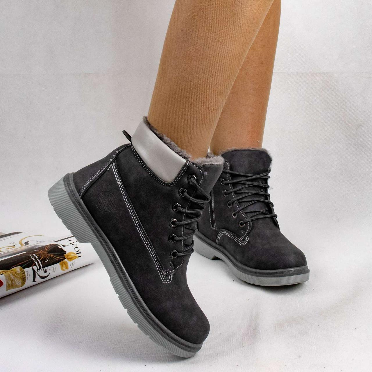 Женские зимние ботинки типа Timberland тимберленд