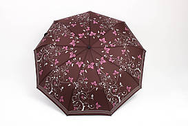 Зонт Mario Дамира коричневый Диаметр купола 98.0(см)/ Длина спицы 56.0(см)/ Длина в сложенном виде 32.0(см) (MR1118) #L/A
