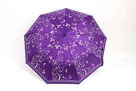 Зонт Mario Дамира фиолетовый Диаметр купола 98.0(см)/ Длина спицы 56.0(см)/ Длина в сложенном виде 32.0(см) (MR1118) #L/A