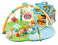 Детский развивающий коврик Happy Space Домик с шариками JL625-A