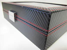 Шкатулка для хранения часов Craft 10PU.CARB.BL