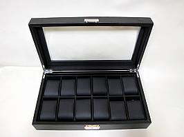 Шкатулка для хранения часов Craft 12PU.CRB.BL