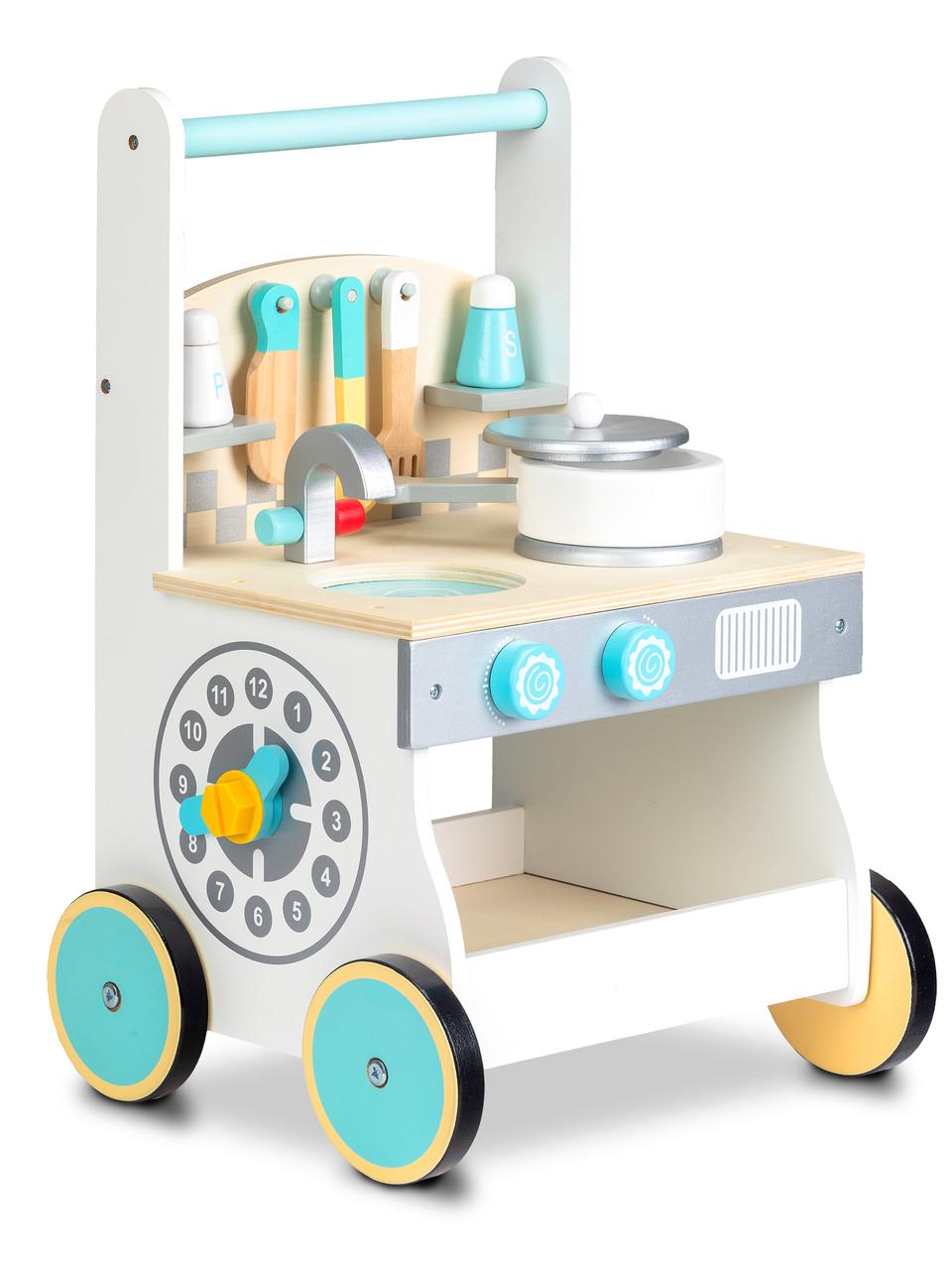 Деревянная игрушка- ходунки Кухня Ecotoys