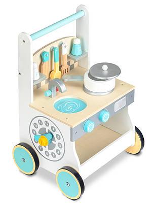 Деревянная игрушка- ходунки Кухня Ecotoys, фото 2