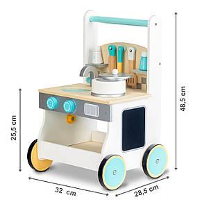 Деревянная игрушка- ходунки Кухня Ecotoys, фото 3