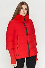 Женская куртка Braggart Kiro Tokao короткая зимняя теплая голубая размер 48 50 52 54, фото 3