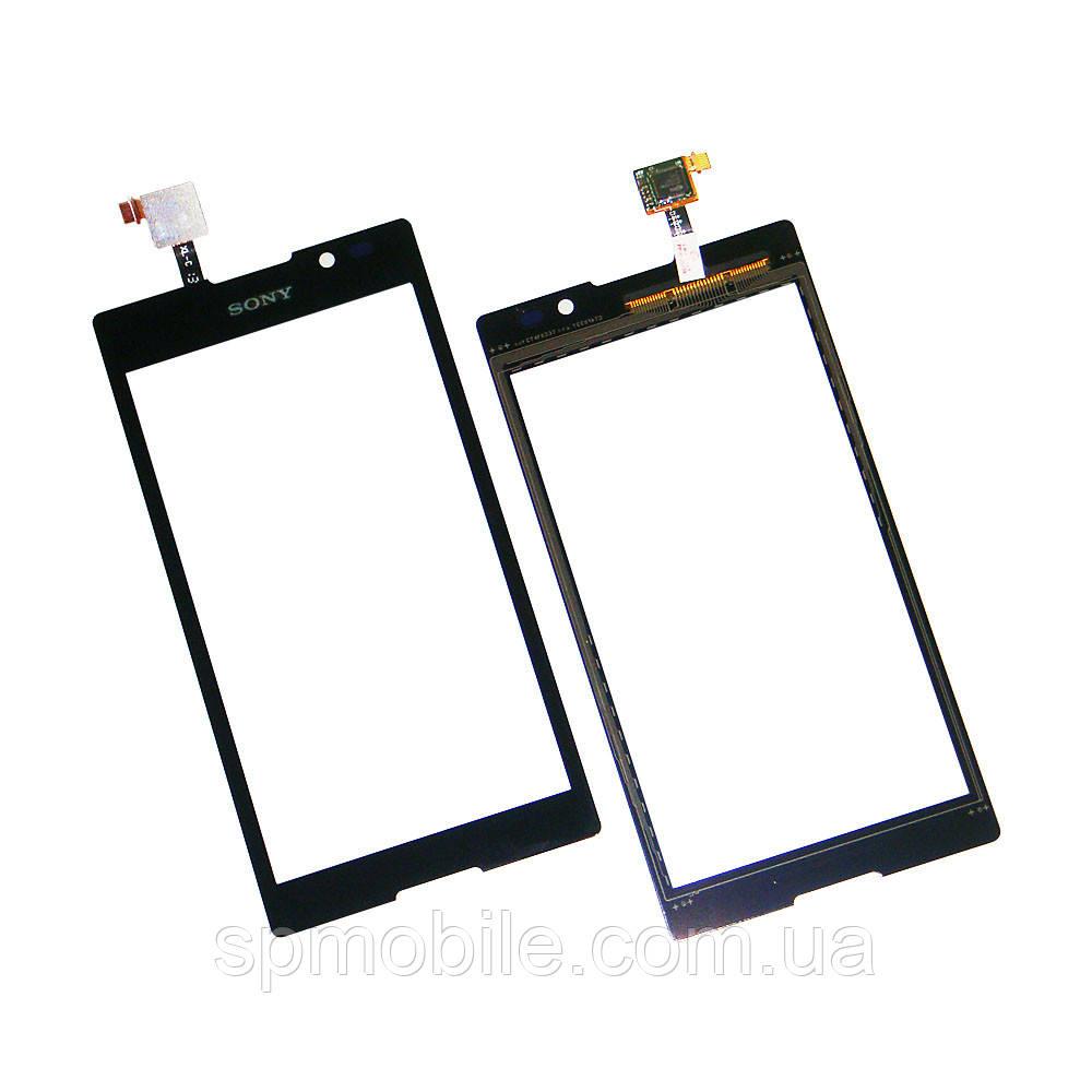 Тачскрин Sony C2305/C2605 S39Н Xperia C (Black) Original