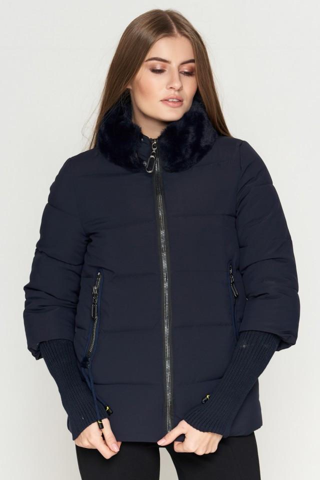 Женская куртка Braggart Kiro Tokao короткая зимняя теплая синяя размер 48 50 52 54