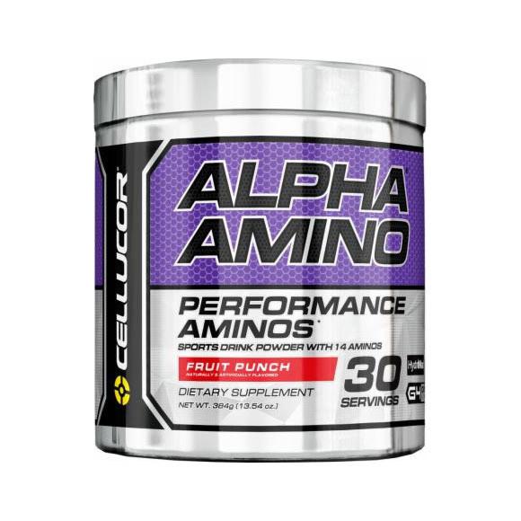 Комплекс аминокислот Cellucor ALPHA Amino 30 serv. (381 г) fruit punch