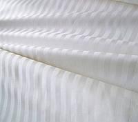 Простынь 220х240см., белого цвета, страйп сатин, пр-во Турция