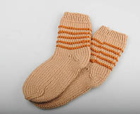 Вязаные носки, размер 18-21 см, фото 1