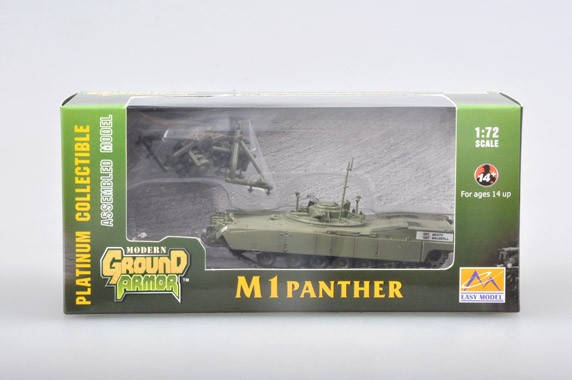 M1 PANTHER w/Mine Roller.1/72 EASY MODEL 35048, фото 2