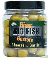 Бойлы в дипе Dynamite Baits Big Fish Hookbaits Cheese & Garlic (сыр чеснок)