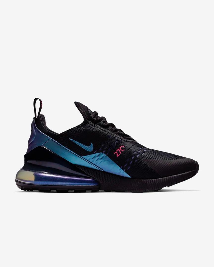 """Мужские кроссовки в стиле Nike Air Max 270 Throwback Future.  """"Black"""" ( в стиле Найк )"""