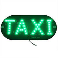 LED шашка такси табличка Такси TAXI 12В, зеленая